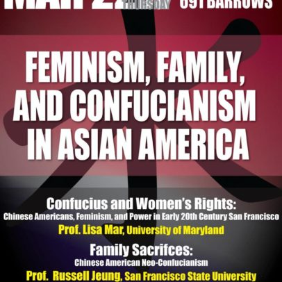 Family Sacrifices: Chinese American Neo-Confucianism