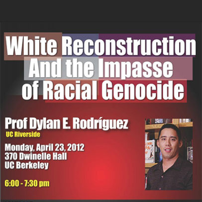 White Reconstruction and the Impasse of Racial Genocide