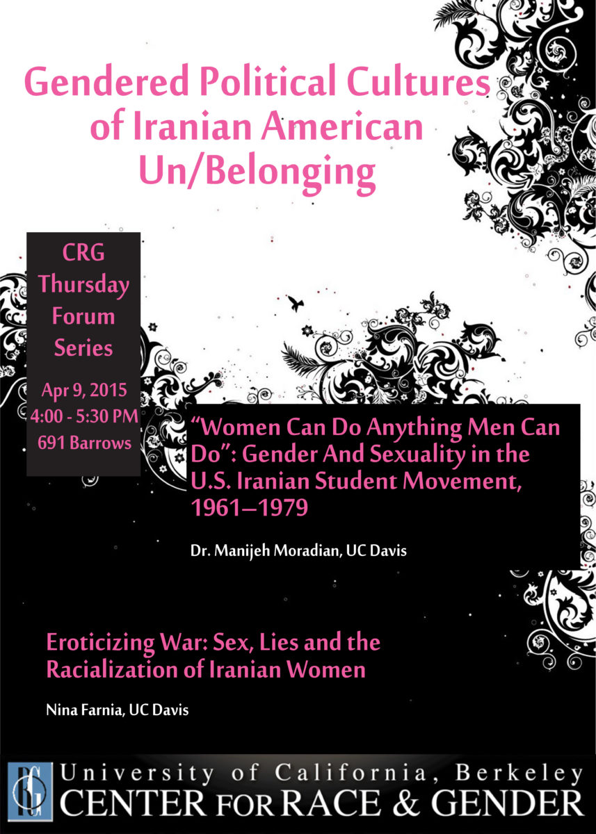 Gendered Political Cultures of Iranian American Un/Belonging