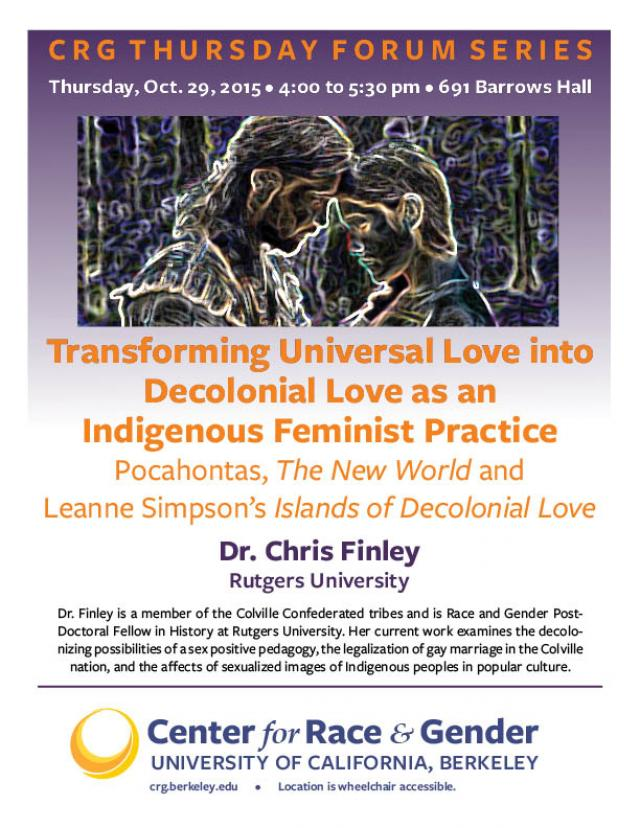 Transforming Universal Love into Decolonial Love as an Indigenous Feminist Praxis