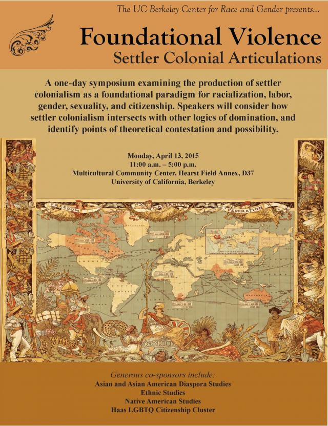 Foundational Violence: Settler Colonial Articulations