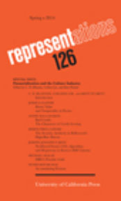 Financialization and the Culture Industry – A Special Issue of Representations