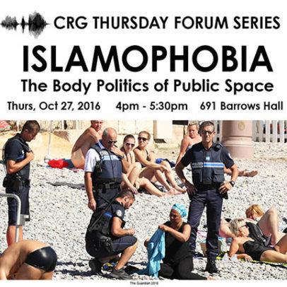 Islamophobia and the Body Politics of Public Space