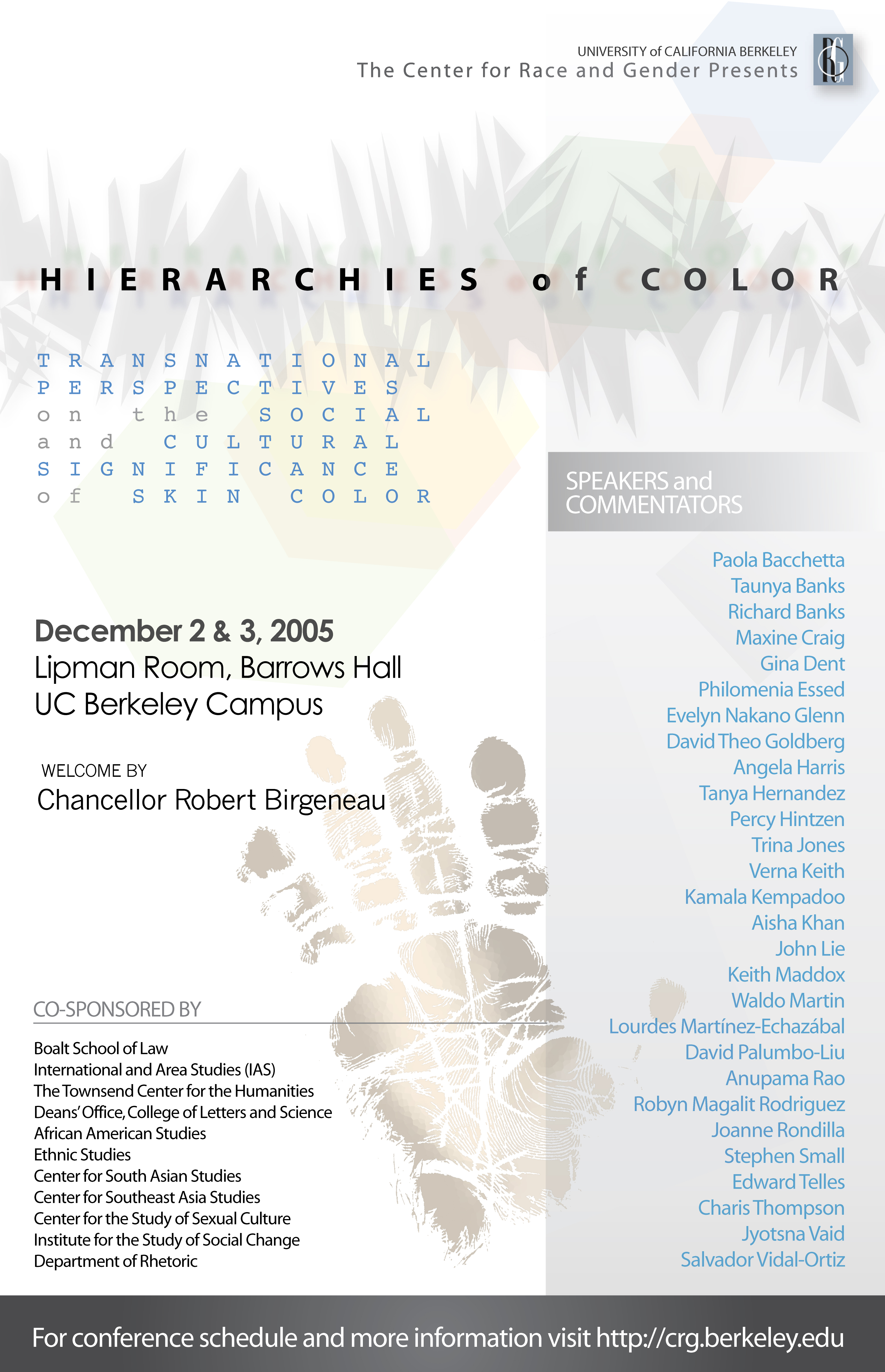 Panel 1: Colonialism and the Development of Color Consciousness