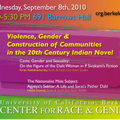 VIOLENCE, GENDER, AND THE CONSTRUCTION OF COMMUNITIES IN THE TWENTIETH CENTURY INDIAN NOVEL: SOME CASE STUDIES
