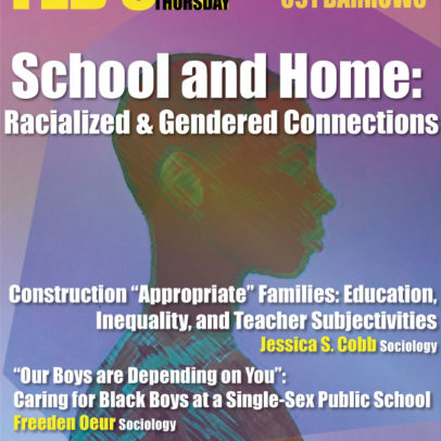 School and Home: Racialized and Gendered Connections