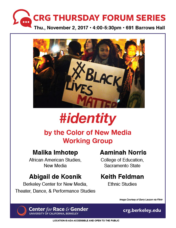 #identity by the Color of New Media